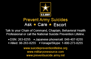 Prevent Army Suicides